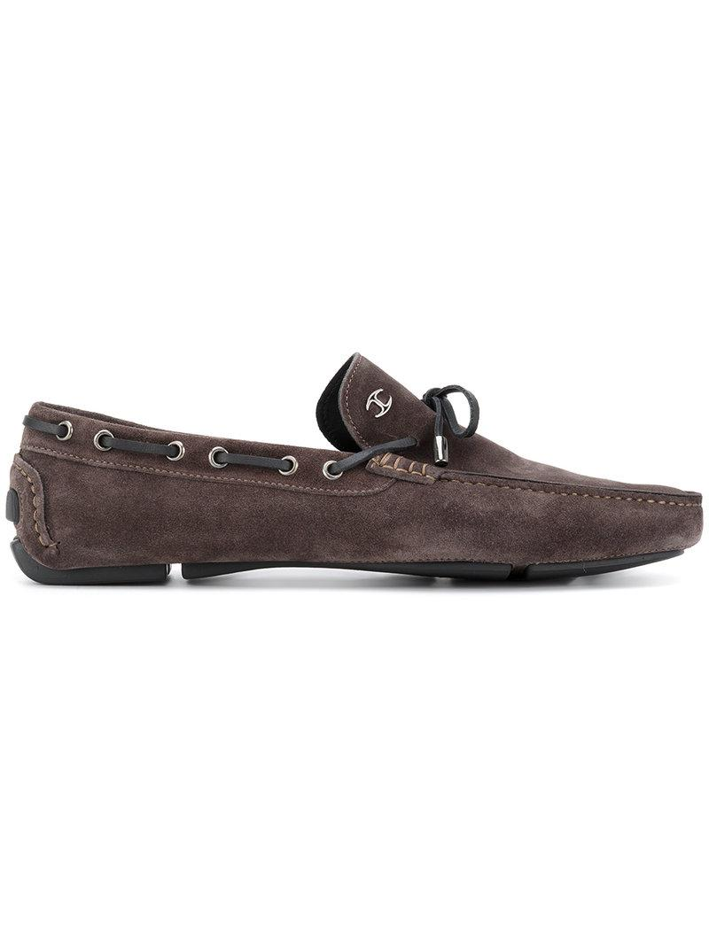 83a8a76a7adb Lyst - Just Cavalli Classic Driving Shoes in Brown for Men