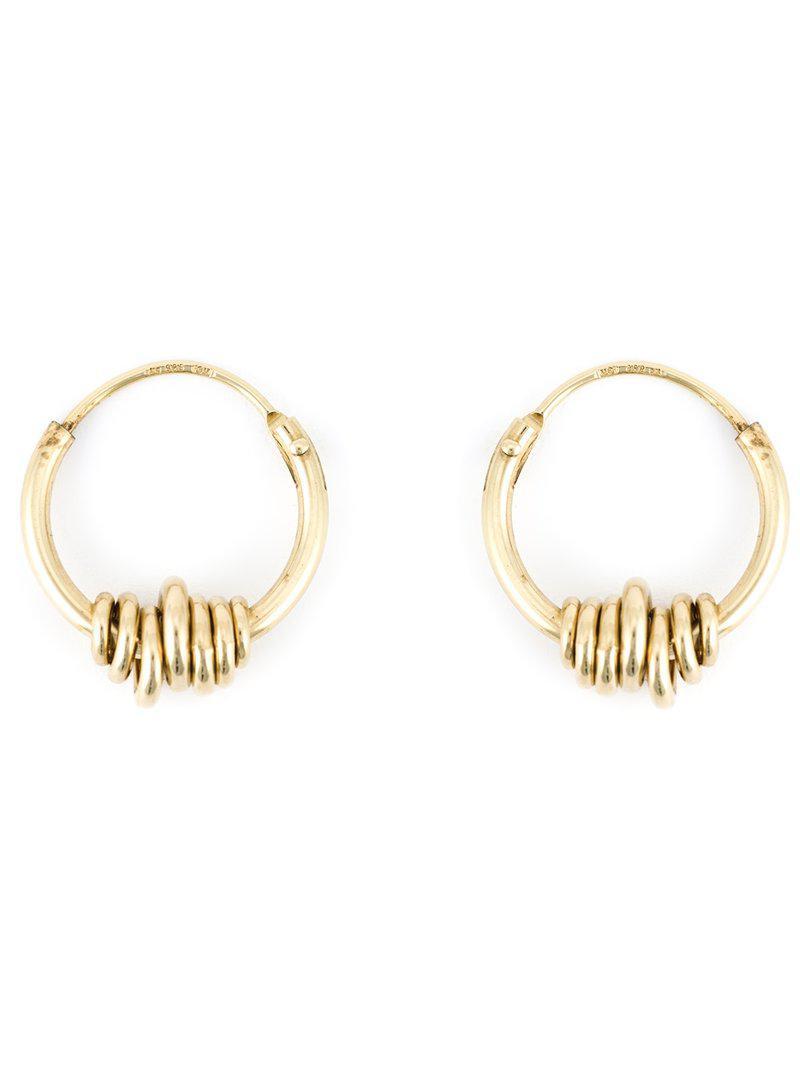 Wouters & Hendrix Clam earrings - Metallic suXZv61S