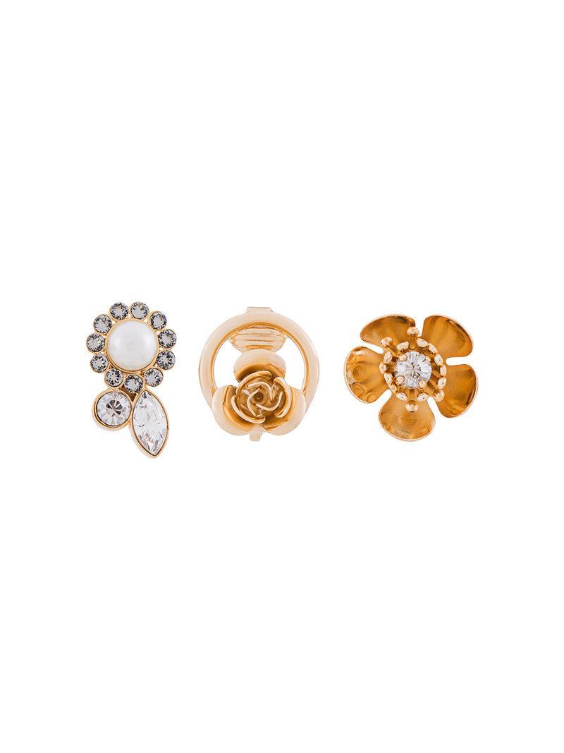 Ca&Lou hoop earrings - Metallic QrT8Tm