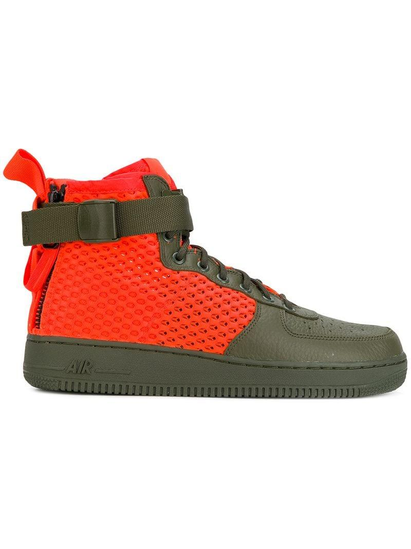 84c27d0b2d8 Nike Sf Air Force 1 Mid Qs Sneakers for Men - Lyst
