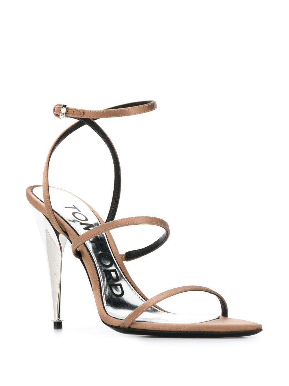 de89de4f53 Tom Ford Strappy Design Sandals - Lyst