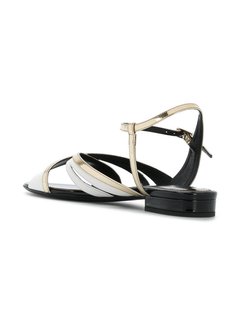 asymmetric strappy sandals - Multicolour Lanvin Ia6k0Y12