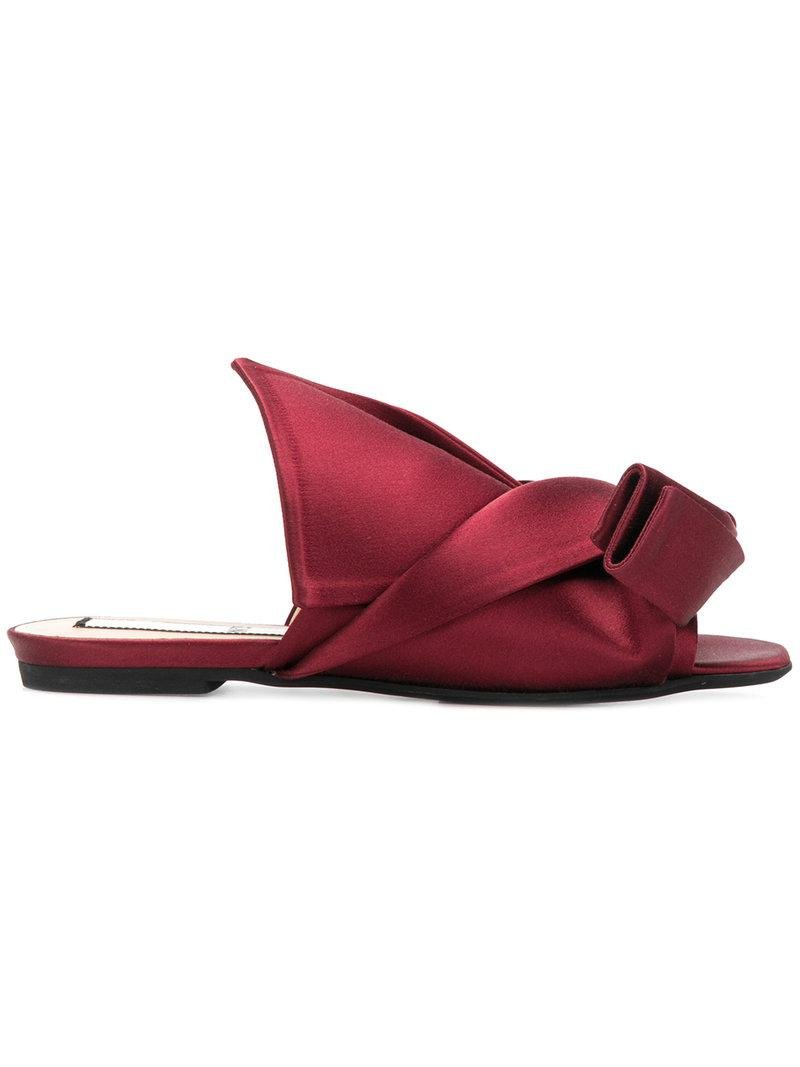 No21 Abstract bow mules