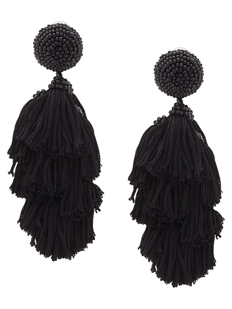 Chacha earring - Black Sachin & Babi 0NSF0IwCj