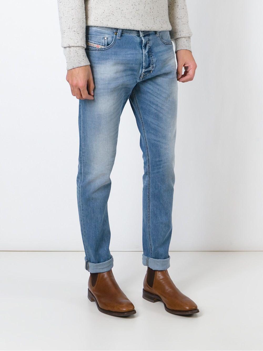 0defc8eac44f57 DIESEL 'tepphar 0842h' Jeans in Blue for Men - Lyst