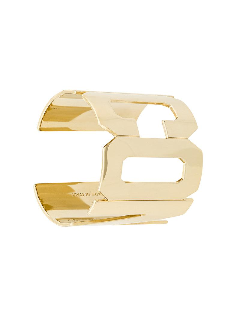Dsquared2 ICON cuff bracelet - Metallic RcxpXhngGu