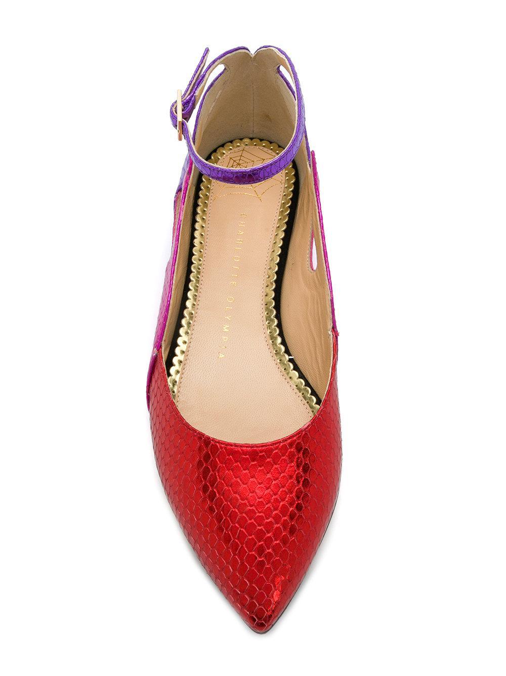 Charlotte Olympia Flamboyante Ballerines - Multicolor HH5ej
