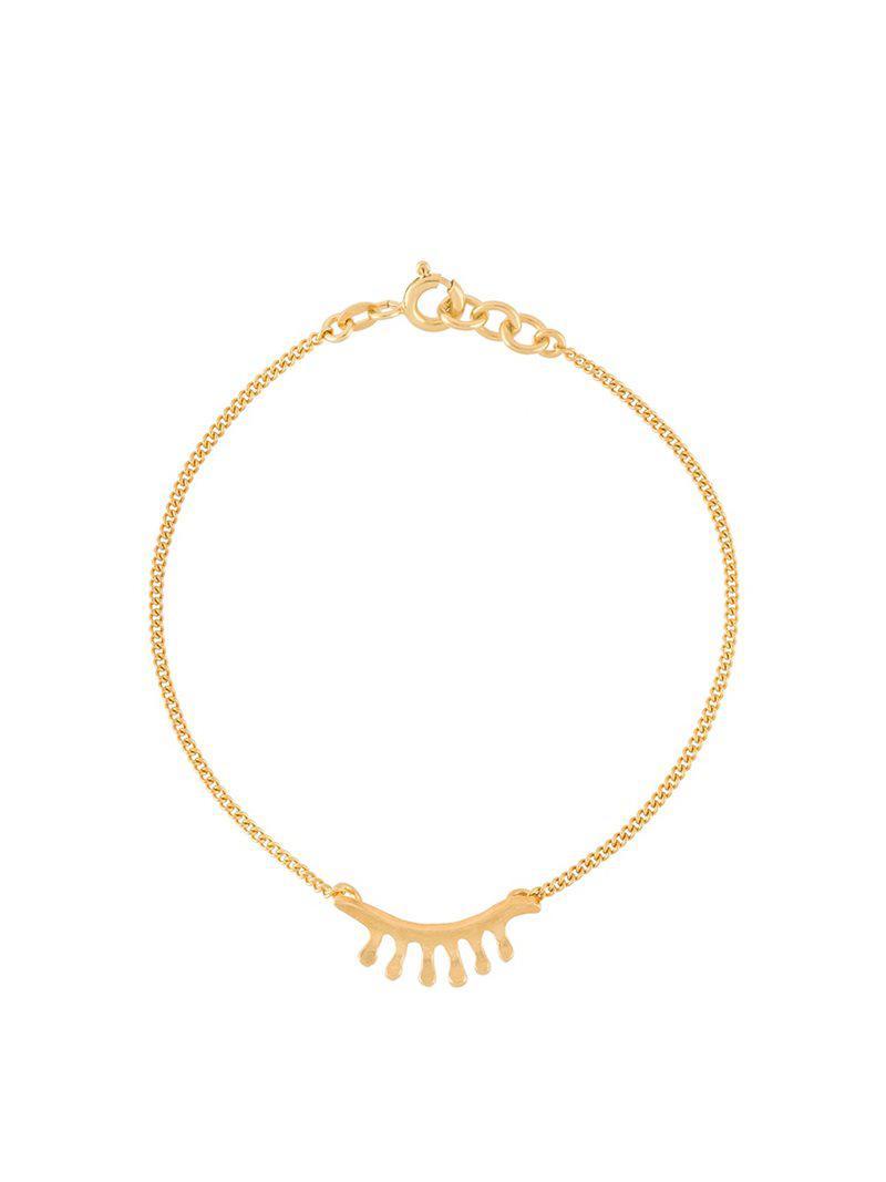 Wouters & Hendrix Baguette diamond bracelet - Metallic qjaOv5VPa