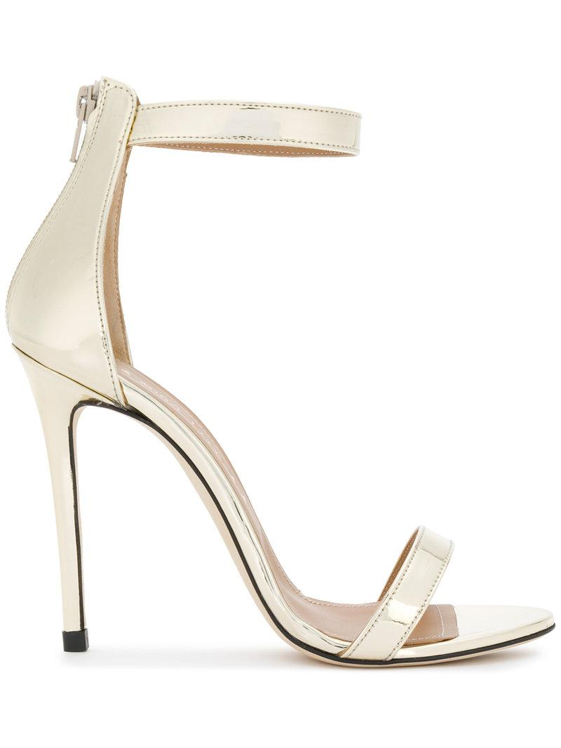 Free Shipping New Arrival Sast For Sale strappy stiletto pumps - Metallic Marc Ellis Fake Sale Online YxcJyUuOL