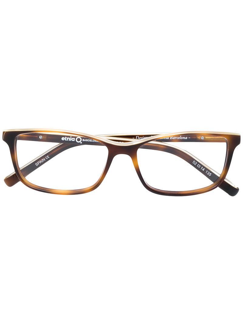 8e75c26e70 Etnia Barcelona Luton Glasses in Brown - Lyst