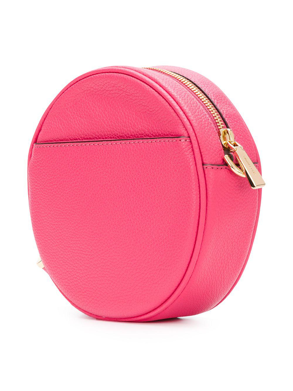 a5f43d5e7e87 Lyst - MICHAEL Michael Kors Mercer Medium Canteen Crossbody Bag in Pink