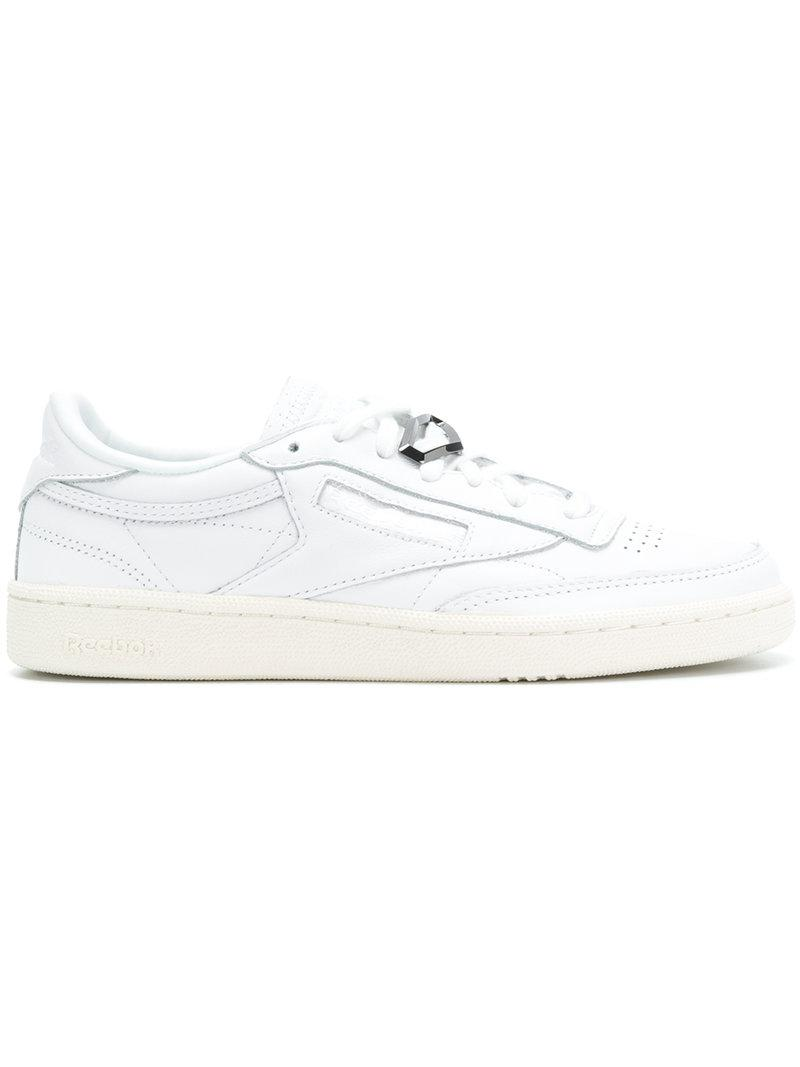 cc311d02e18 Reebok Classic Sneakers in White - Lyst