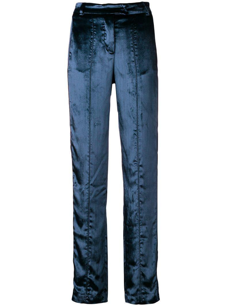 063056804797 Lyst - F.R.S For Restless Sleepers Straight Leg Trousers in Blue