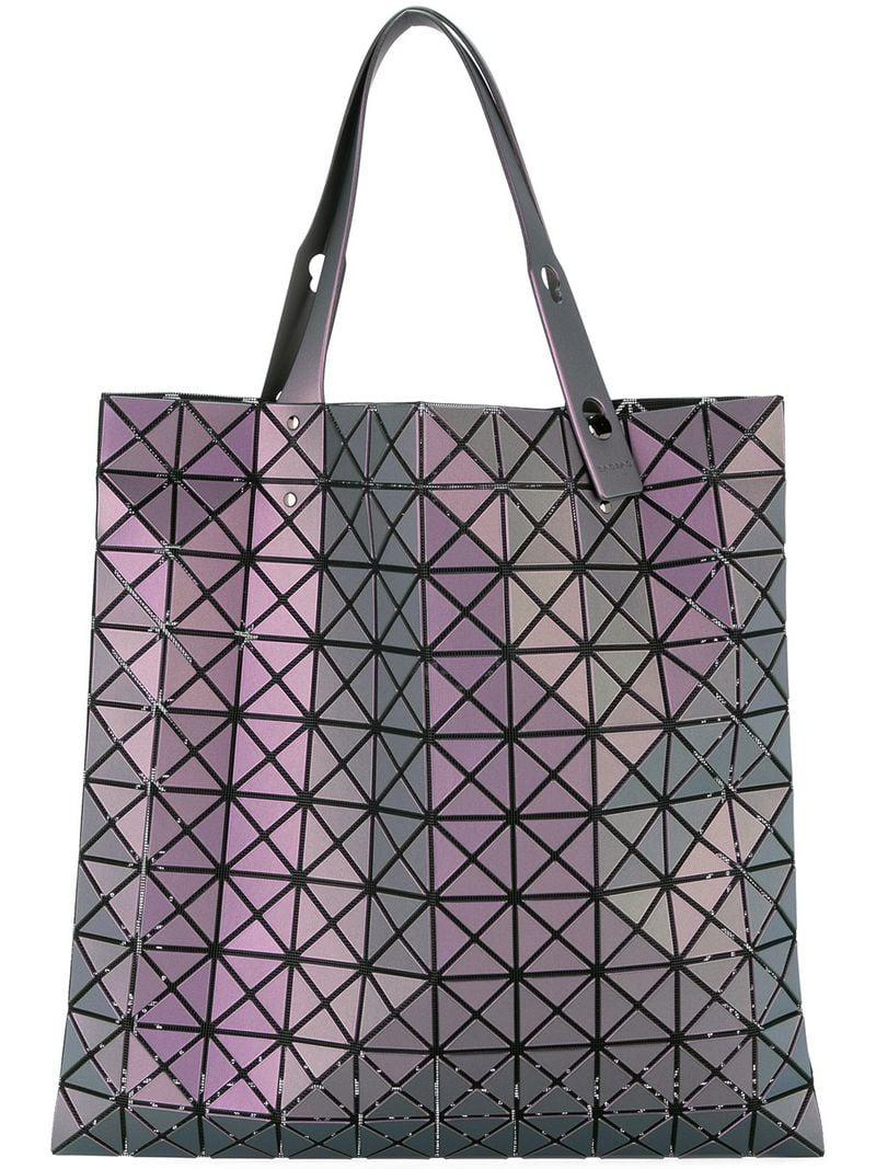 739cab60d183 Bao Bao Issey Miyake Phase Tote in Purple - Lyst