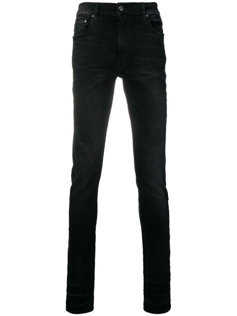 cdf2cb24ec8 Amiri - Black Classic Skinny-fit Jeans for Men - Lyst. View fullscreen