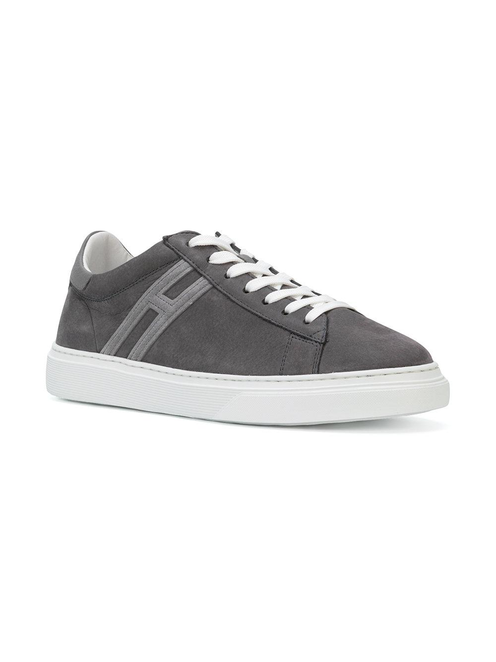 logo stitched sneakers - Grey Hogan ByjQBBeXo3