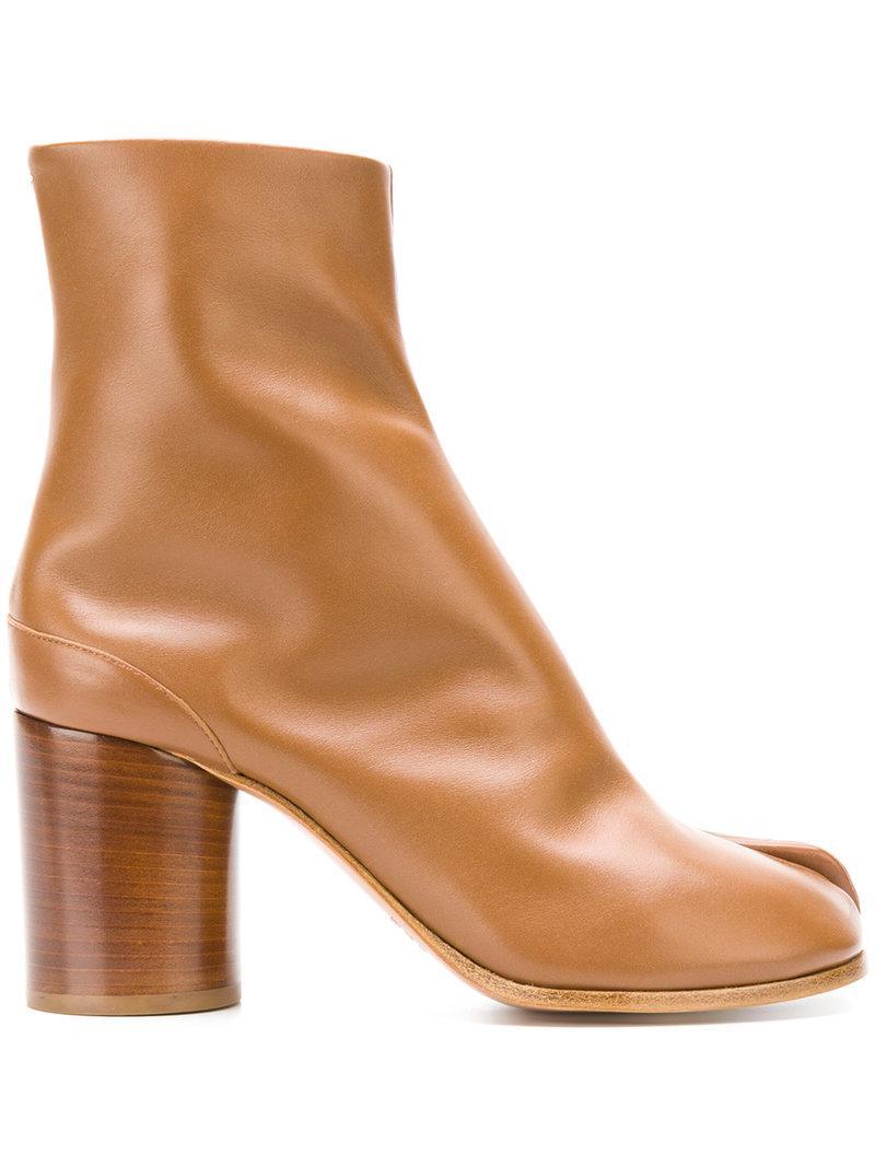 01119713649 Lyst - Maison Margiela Tabi Boots in Brown