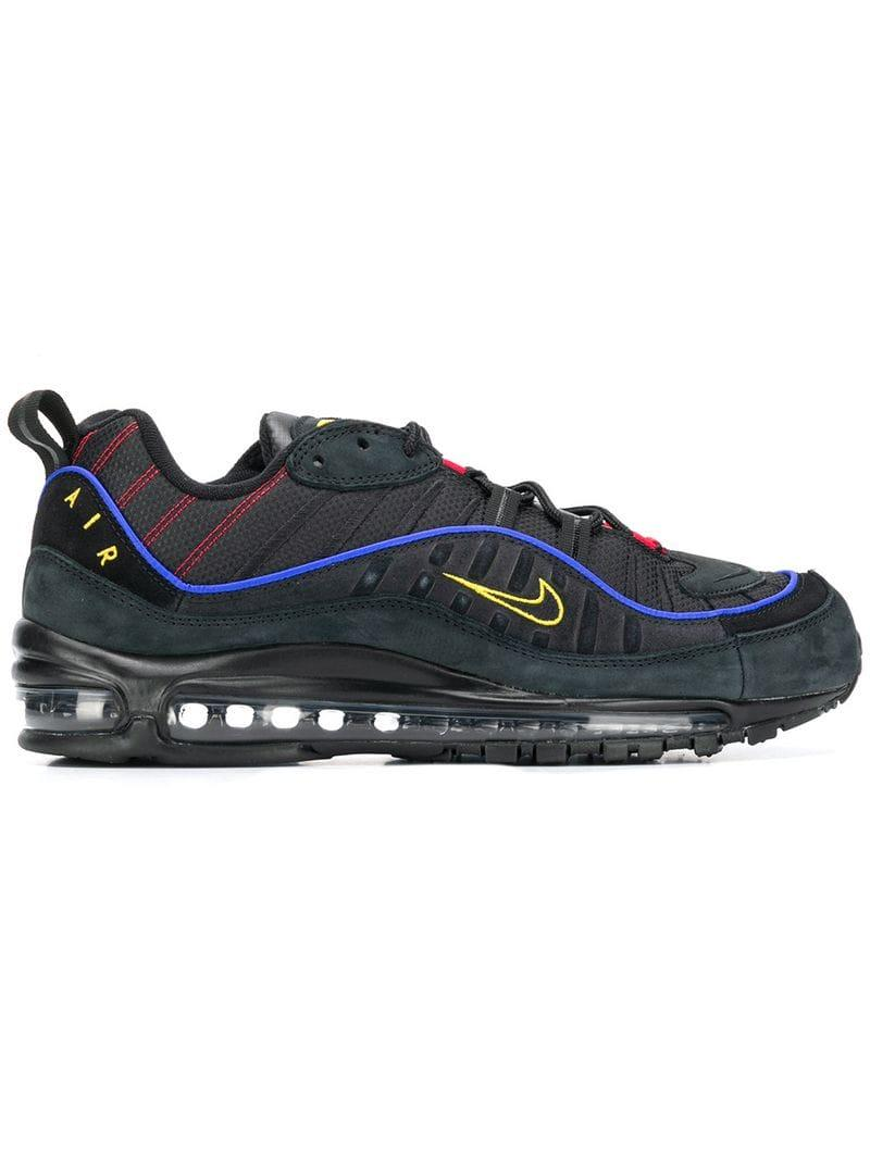 ed50bf2ca02fe7 Lyst - Nike Air Max 98 Sneakers in Black for Men