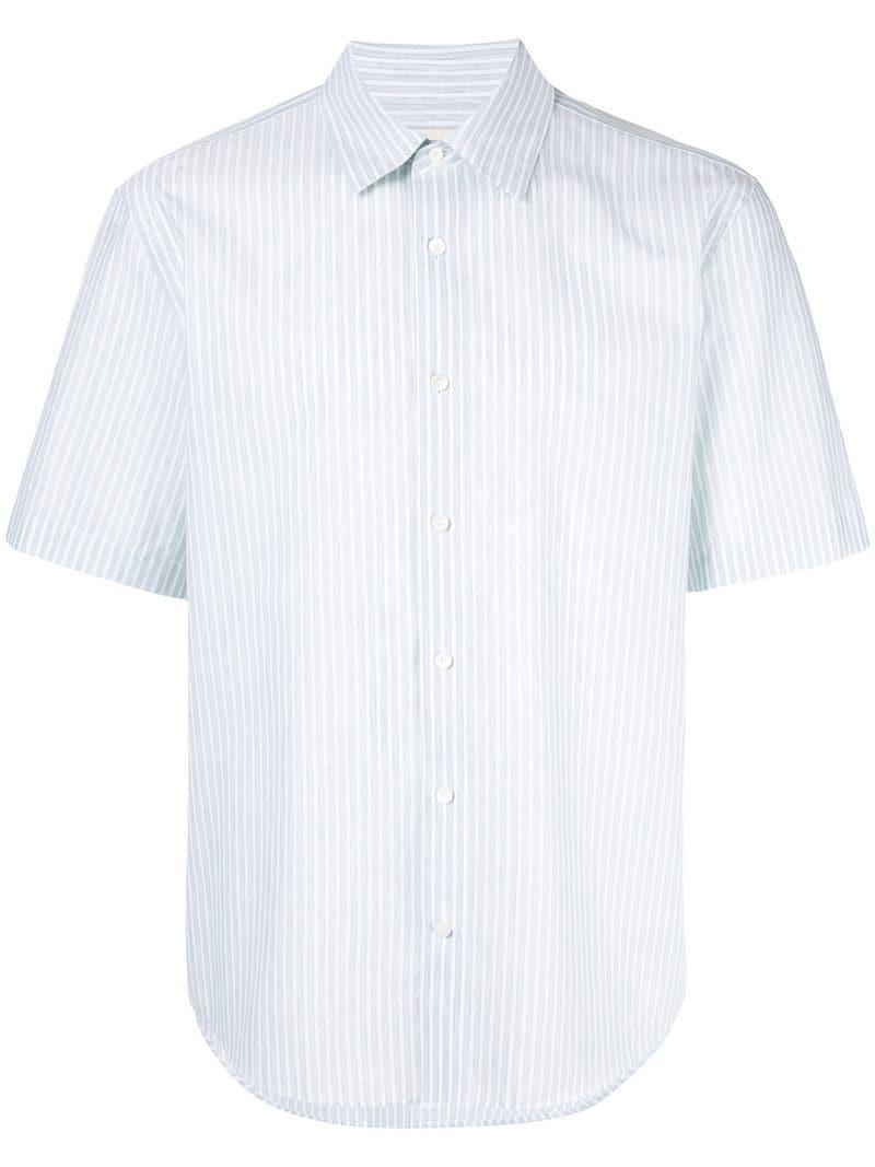 2971ca81 Lyst - Cerruti 1881 Striped Shirt in Green for Men