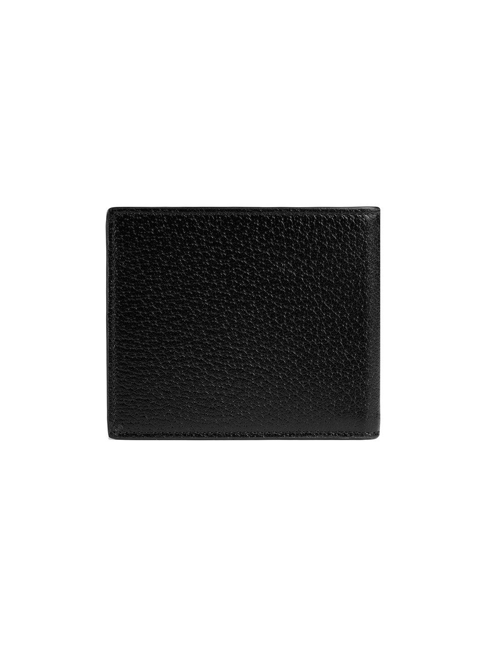 9bc1b6c5453c Gucci Animalier Leather Wallet in Black for Men - Lyst