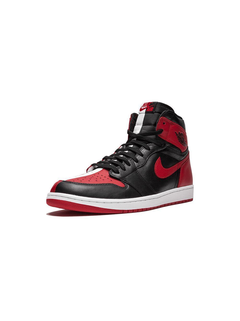 ad3b41f1e44e95 Nike Air 1 Hi H2h Nrg   Chi Sneakers in Black for Men - Lyst