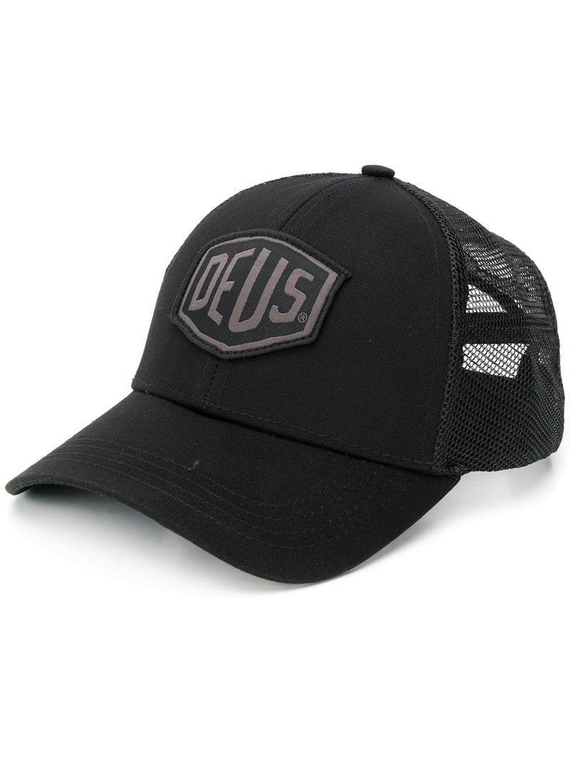 1127449e61168 Lyst - Deus Ex Machina Classic Brand Cap in Black for Men