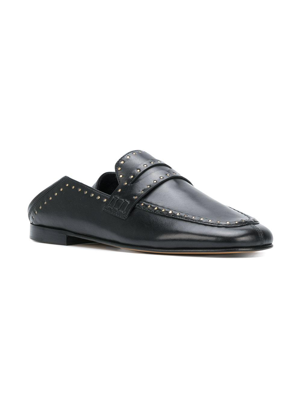 391adda06c0 Isabel Marant Fezzy Loafers in Black - Save 32.38636363636364% - Lyst