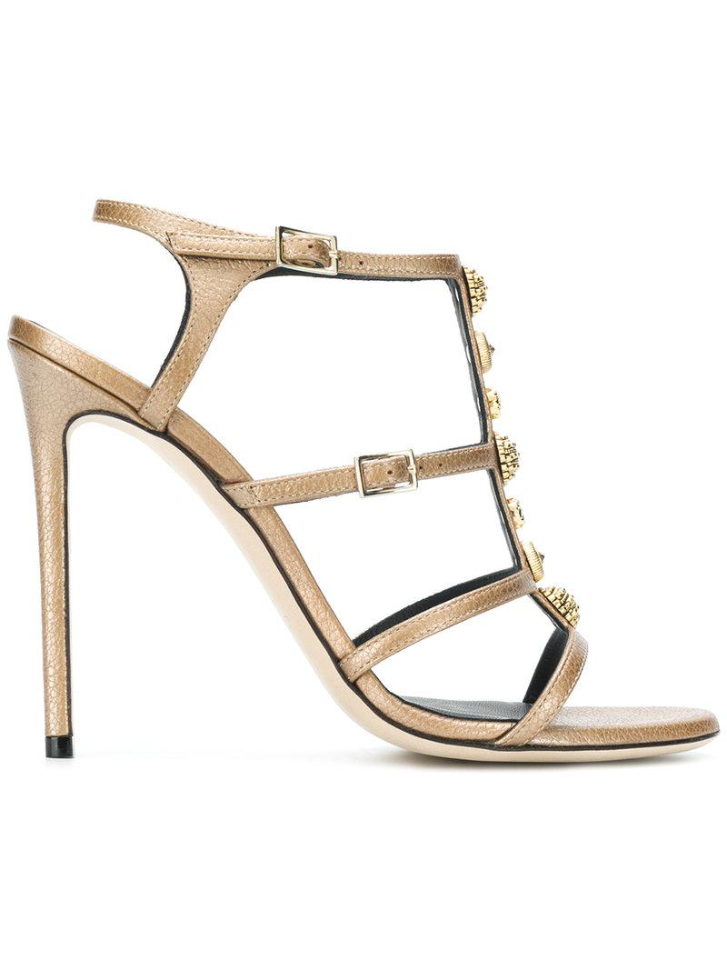 embellished strappy sandals - Black Greymer MywRZj7eIi