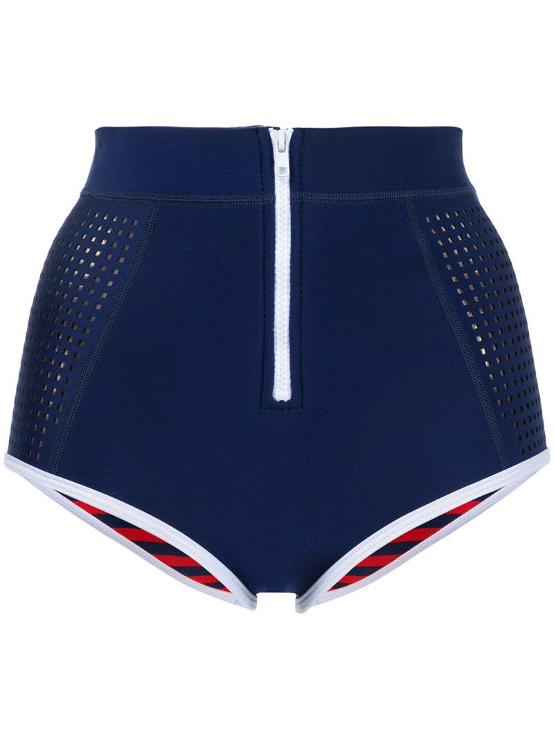 Kailua high waisted bikini pants - Green Duskii Largest Supplier Cheap Price Sale Shop Outlet Footlocker Pictures Outlet Fashion Style Marketable Cheap Price UMrFfJ
