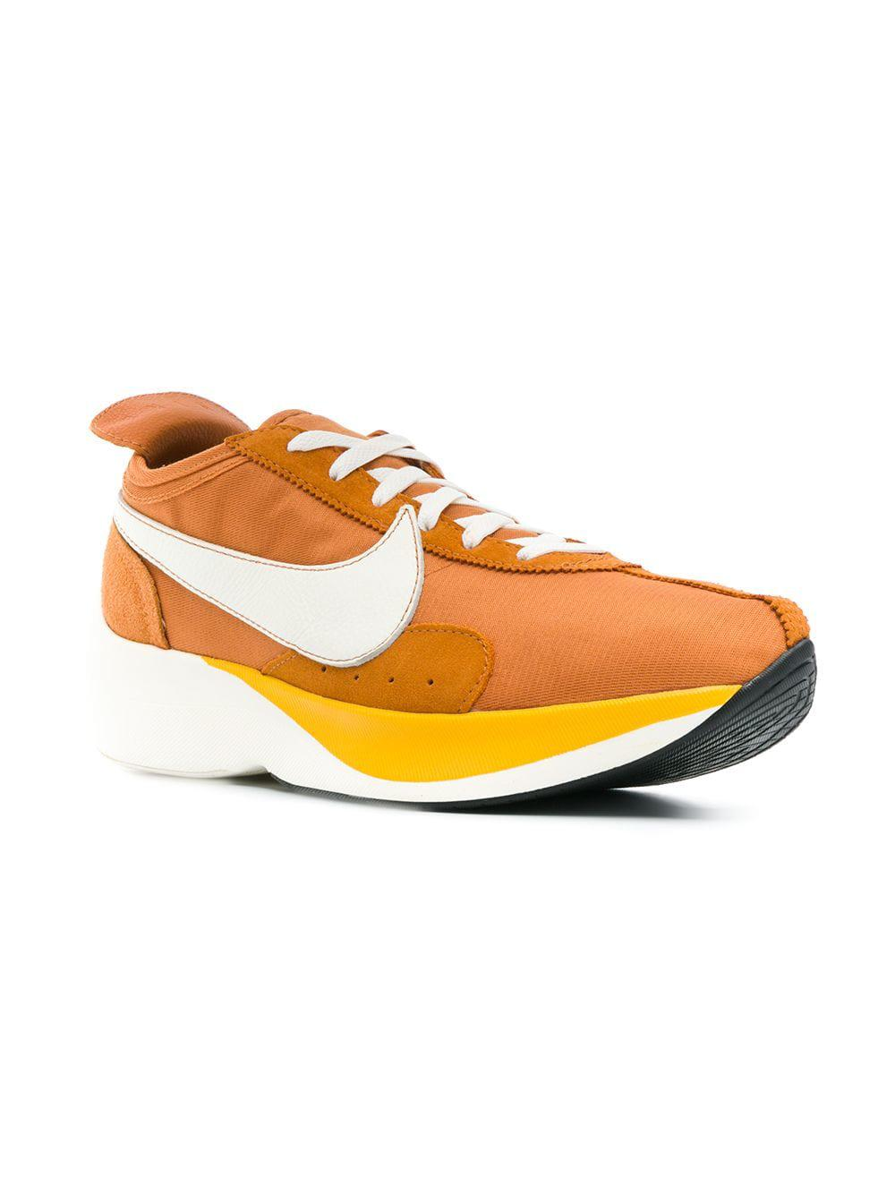 Lyst - Nike Moon Racer Sneakers in Orange for Men - Save 3% df5149da3