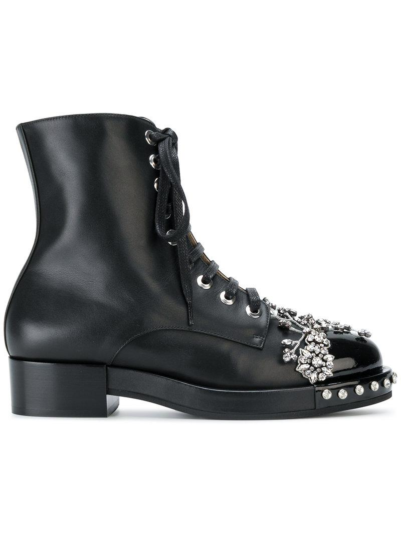 Low Shipping embellished biker boots - Black N Sale Amazing Price Online Cheap Price Genuine Shop Offer For Sale 0pqiBf