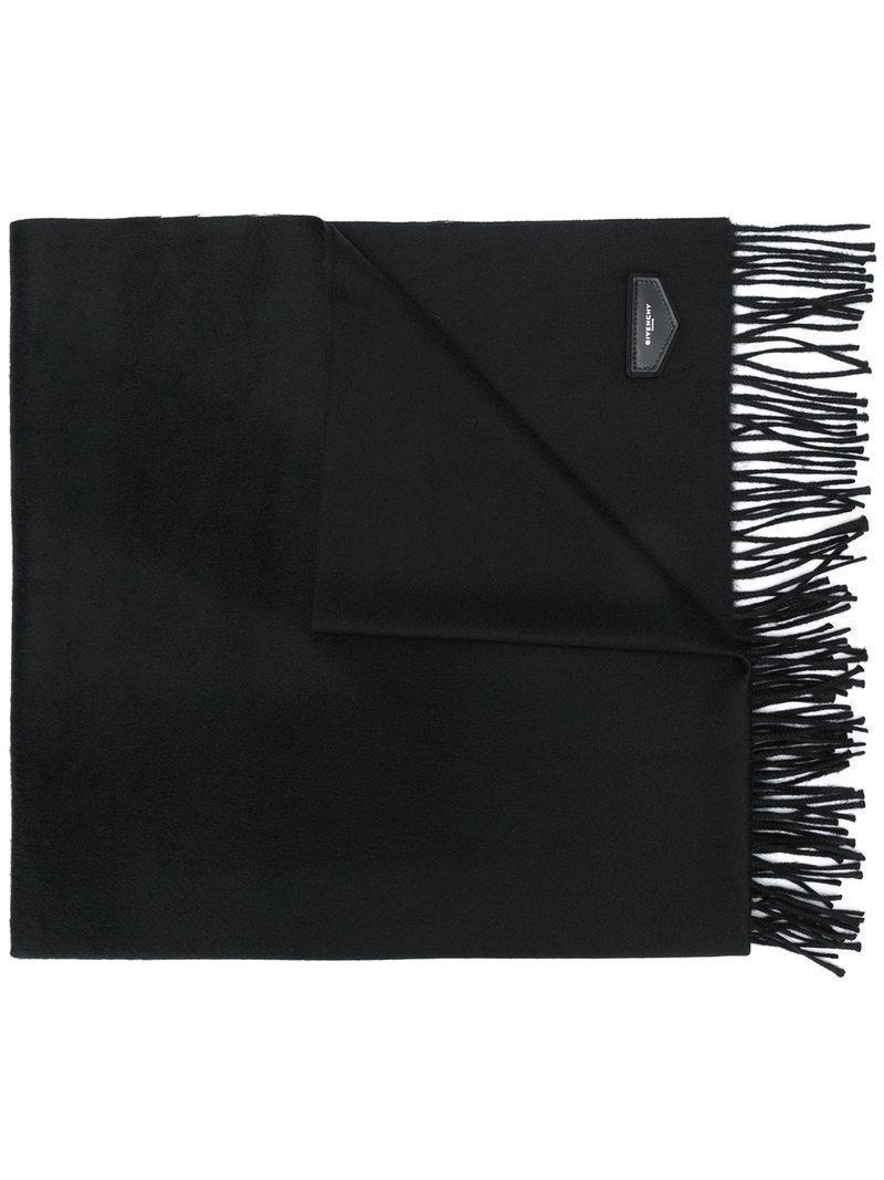 Écharpe Pompon Tricoté - Noir Givenchy 9qe7M0cRL