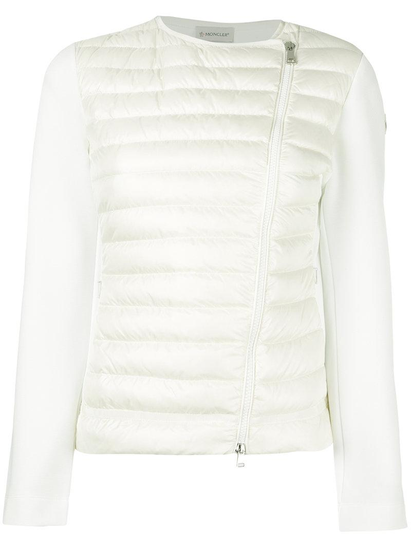 moncler maglia white