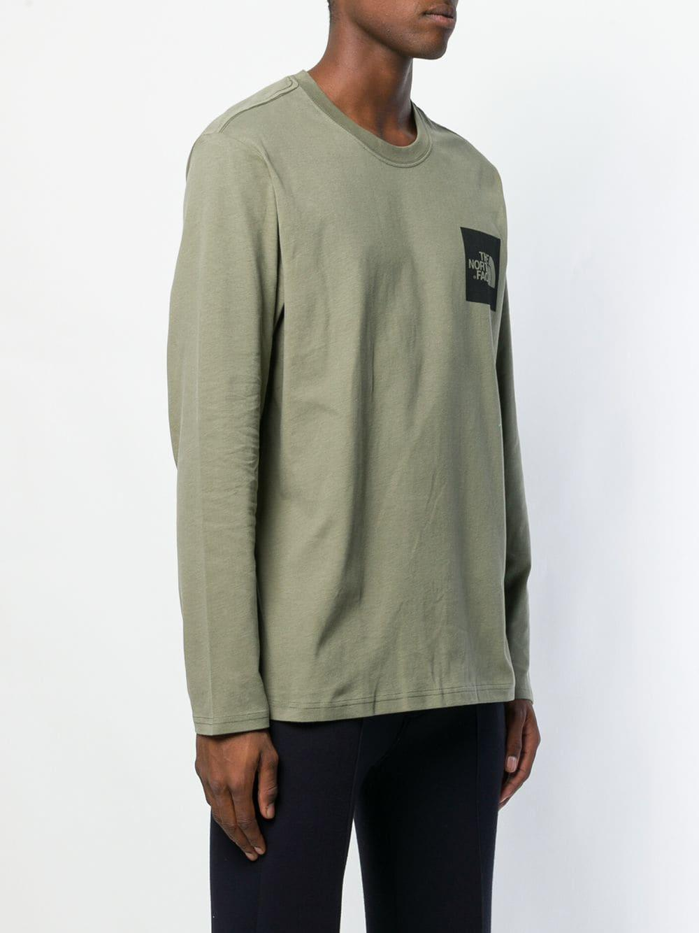7b0a96ba6 Lyst - The North Face Loose Fitted Sweater in Green for Men