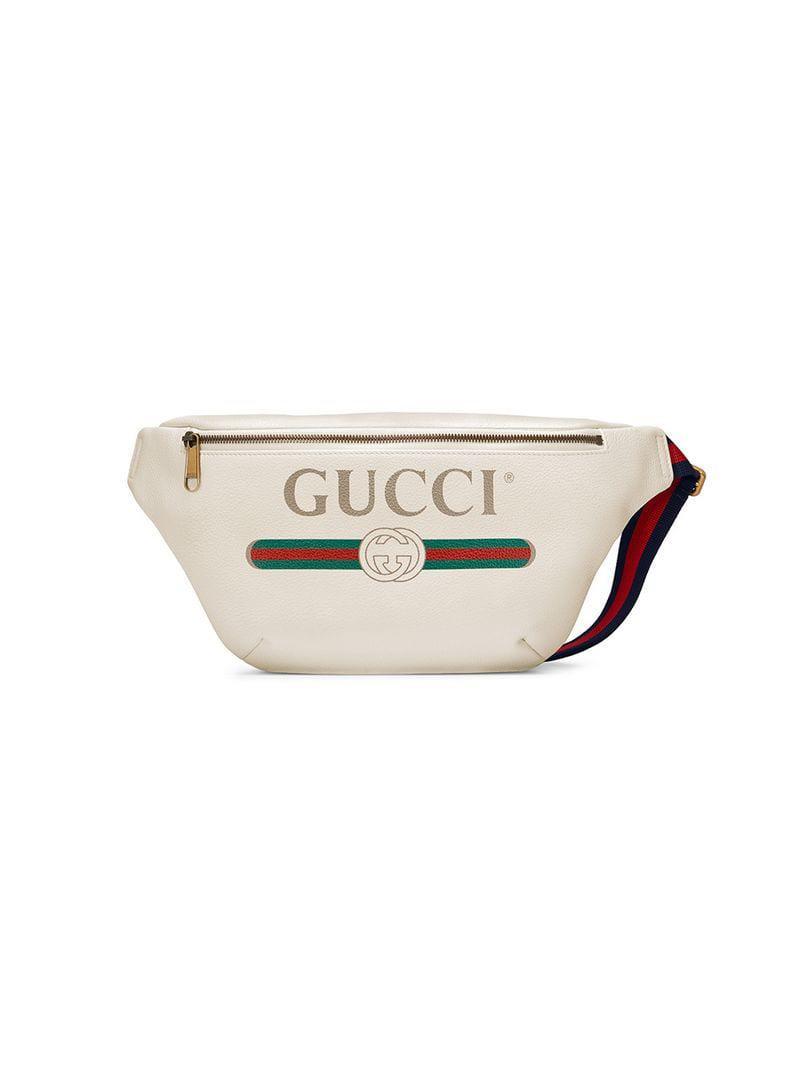 af34f6f33d Gucci - Multicolor Sac banane à logo for Men - Lyst. Afficher en plein écran