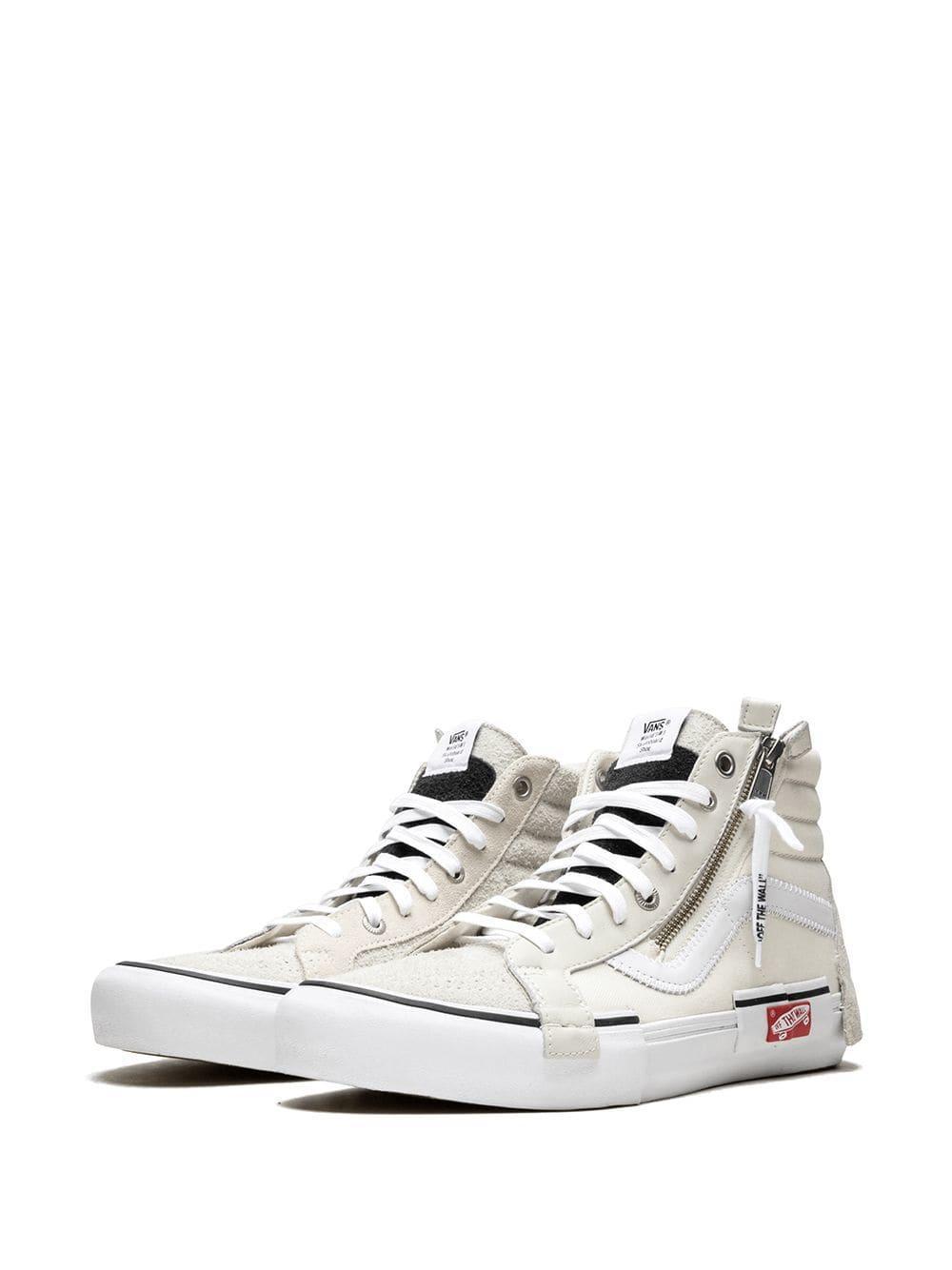 b693d05d951 Vans Sk8-hi Cap Lx Sneakers in White for Men - Lyst