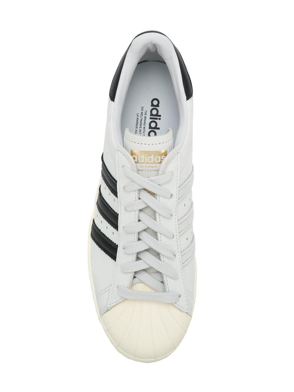 Lyst adidas superstar degli anni '80 le scarpe da ginnastica in bianco.