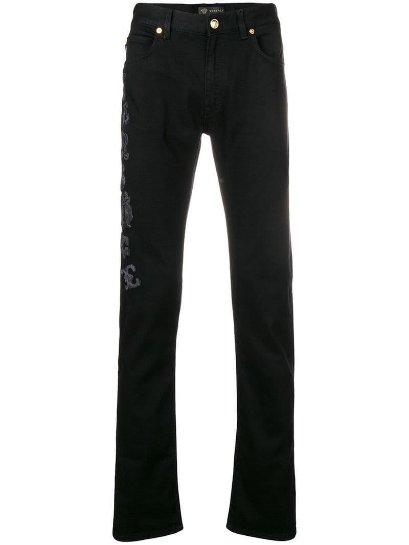 bd22d87e4b19 Lyst - Versace Medusa Print T-shirt in Black for Men