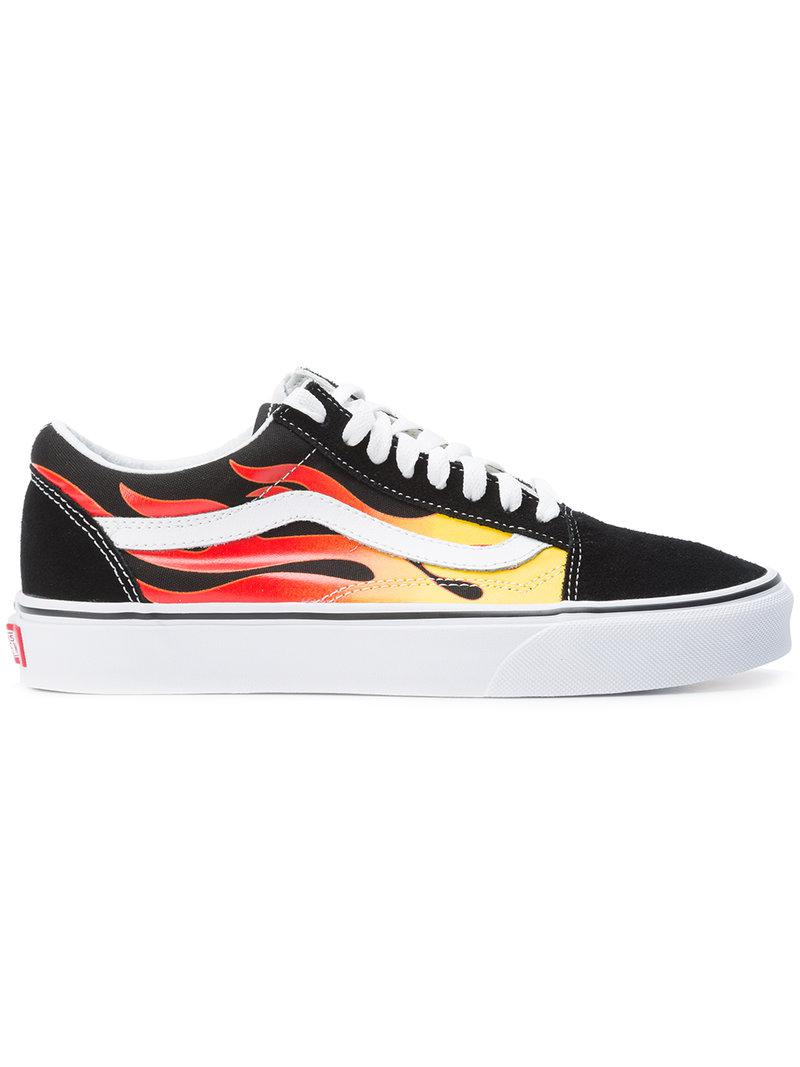 2f1e06cc46 Lyst - Vans Fire Streak Lace-up Sneakers in Black for Men