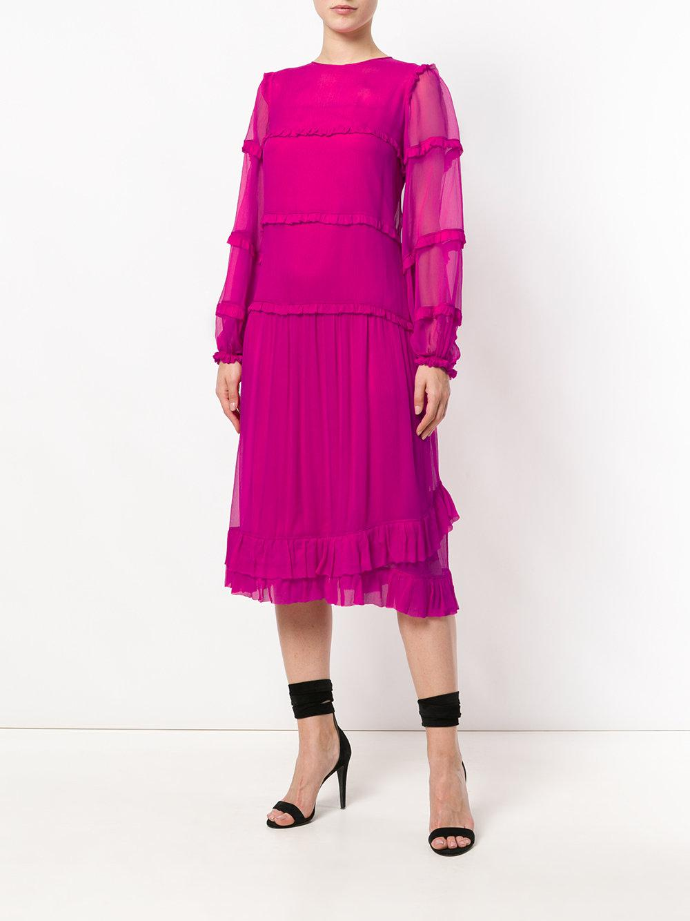 The Cheapest Cheap Price shift midi dress - Pink & Purple N°21 Cheapest For Sale SbMicJ4