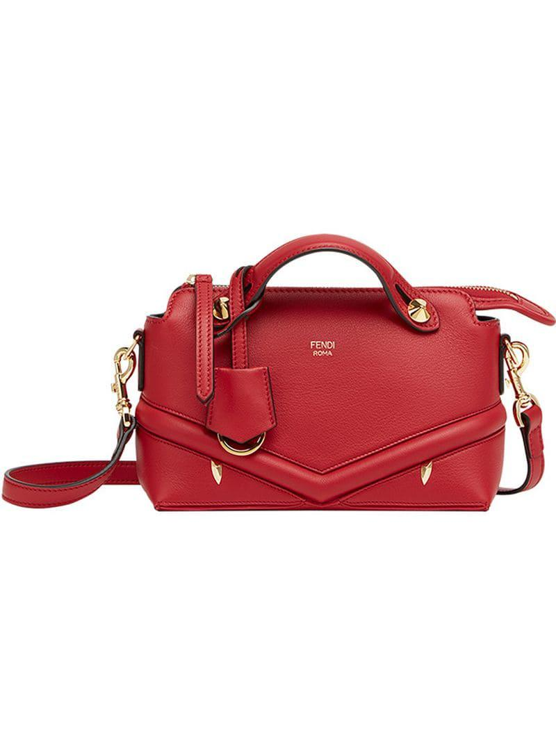 ccb5b11bab11 Fendi By The Way Mini in Red - Lyst