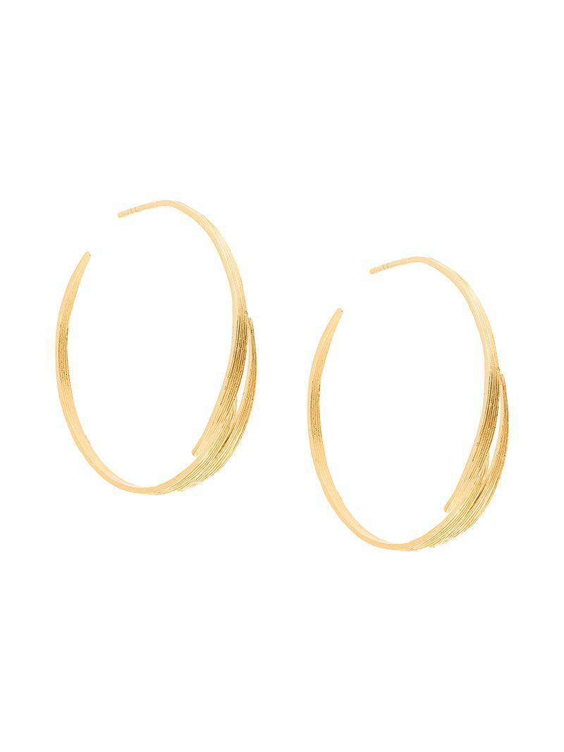 Wouters & Hendrix My Favourtie small chunky hoop earrings - Metallic zaotim