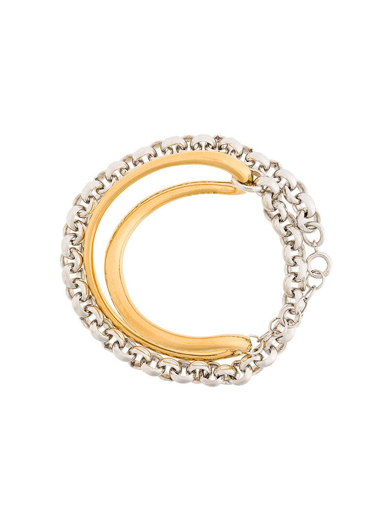 Charlotte Chesnais Initial bracelet - Metallic a6uSSCP6Ul
