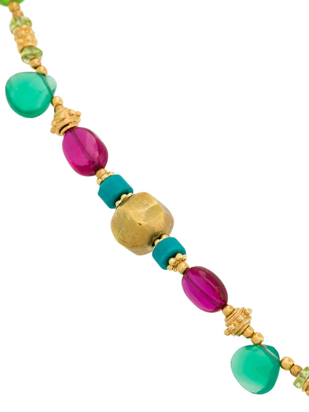 Katerina Makriyianni summer stone bracelet - Multicolour 19ktIjdvmu