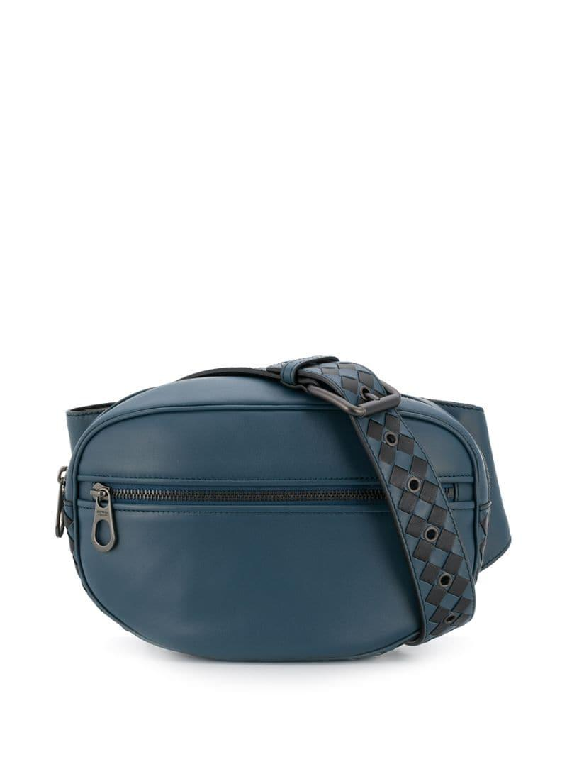 396be8eb9d8 Valentino Garavani Vltn Belt Bag in Blue for Men - Lyst