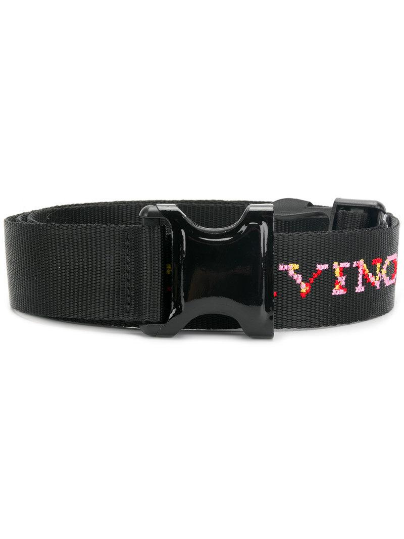 grommet belt - Black Ermanno Scervino