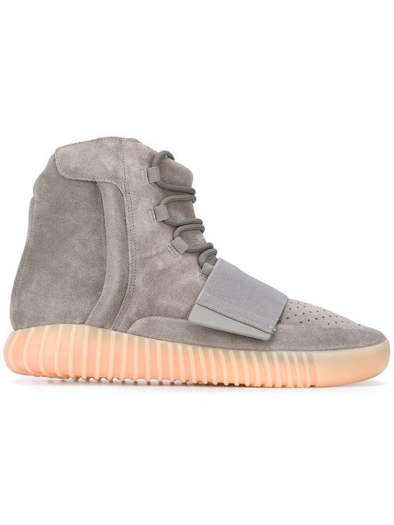 8a20c6f7f4d Yeezy Adidas X Boost 750 Light Grey in Gray for Men - Lyst