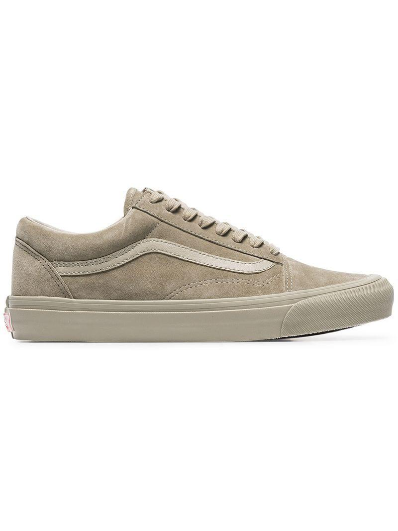 326552fcf0 Vans Taupe Vault Low Top Suede Sneakers for Men - Lyst