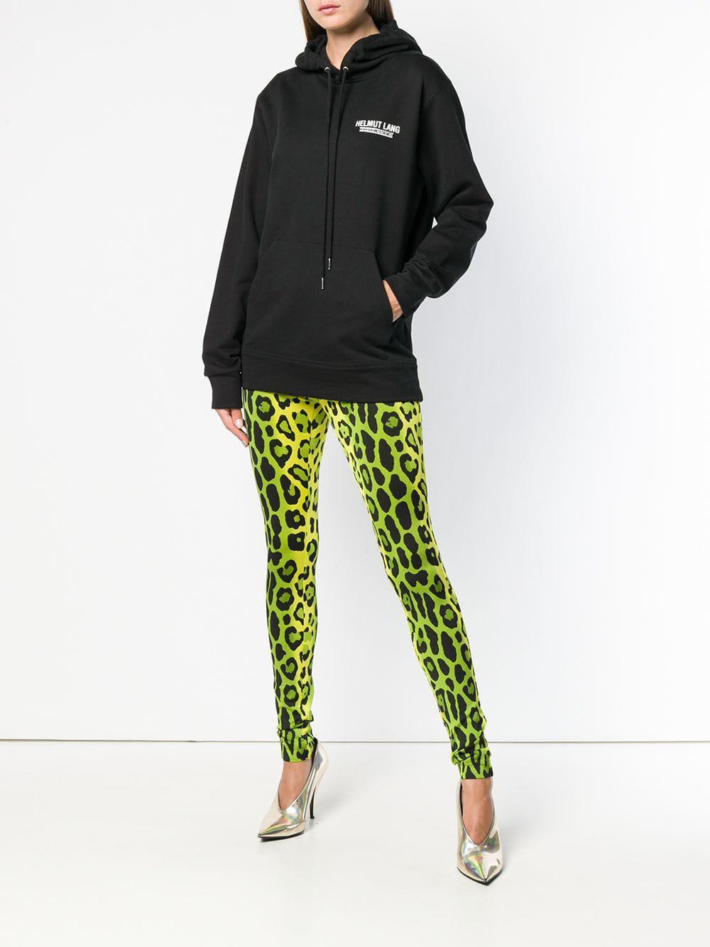 4b162dbdf570 Tom Ford Leopard Print Skinny Trousers in Green - Lyst