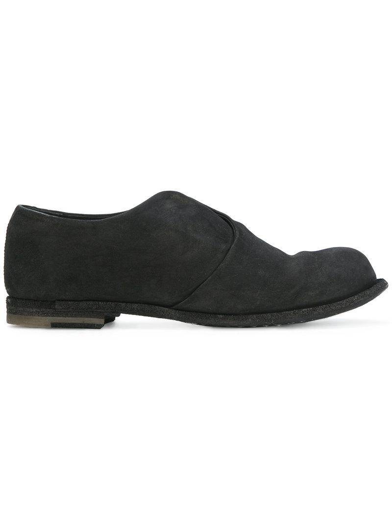 Officine Creative Black Suede Mono 7 Loafers 2QZdfc